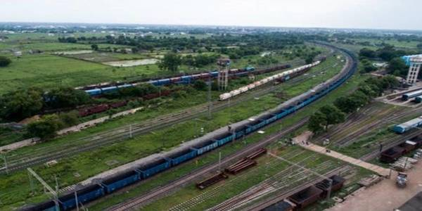Indian Railways' one of longest freight train 'Trishul' sets new record.
